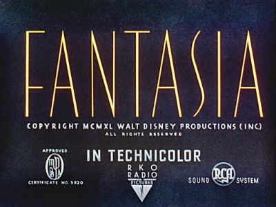fantasia disney�s strange experiment with music and