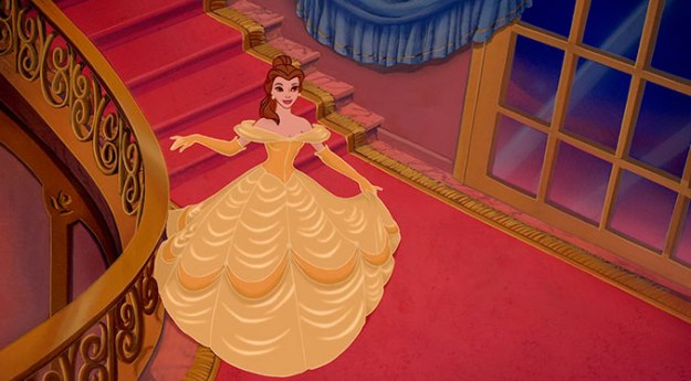 Opening-Presents-As-Told-By-Disney-Characters-Belle