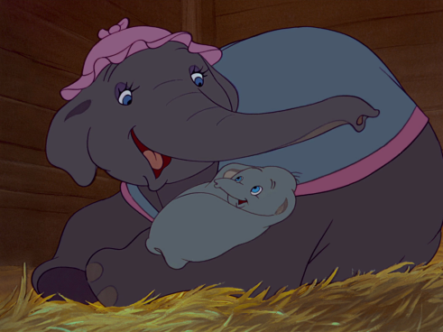 Mrs._Jumbo_tending_to_Dumbo