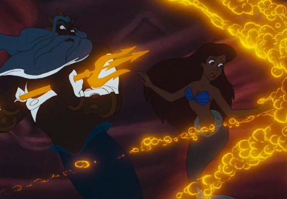 King_Triton_destroying_Ariel's_treasures