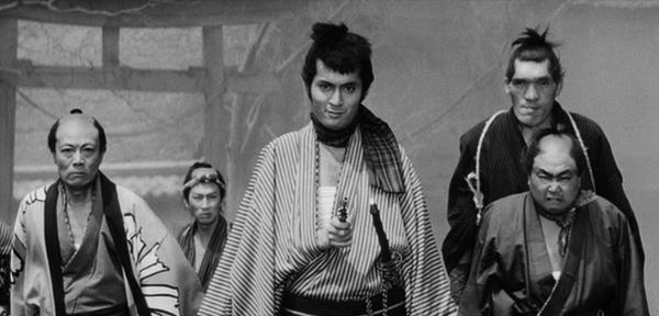 yojimbo-1961-movie-review-gang-unosuke-tatsuya-nakadai